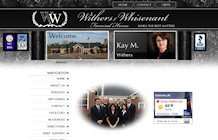 web design portfolo: Withers and Whisenant Funeral Home