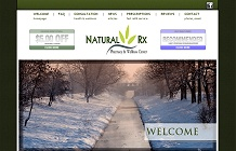 web design portfolo: Natural Rx Pharmacy